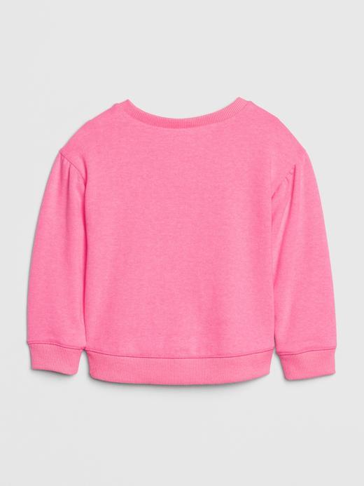 Bebek mor Baskılı Sweatshirt