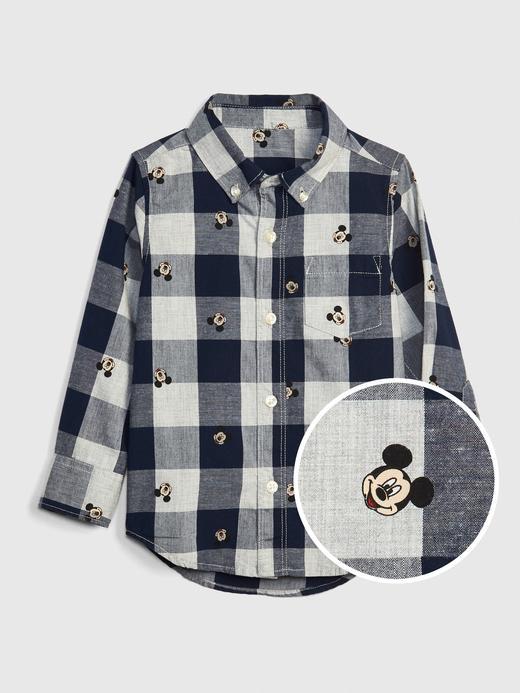 Disney Mickey Mouse Kareli Gömlek