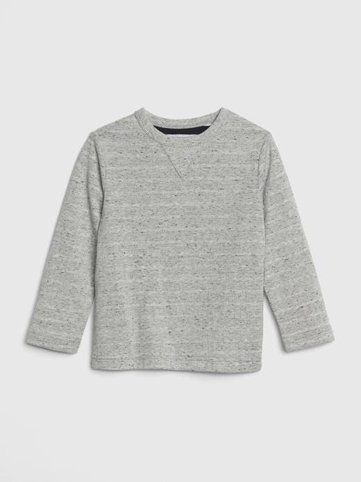 Bebek gri Uzun Kollu T-Shirt