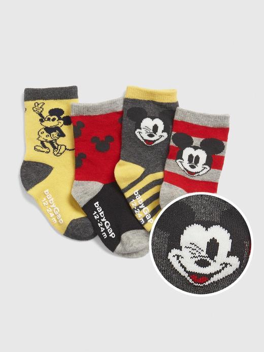 4'lü Disney Mickey Mouse Çorap Seti