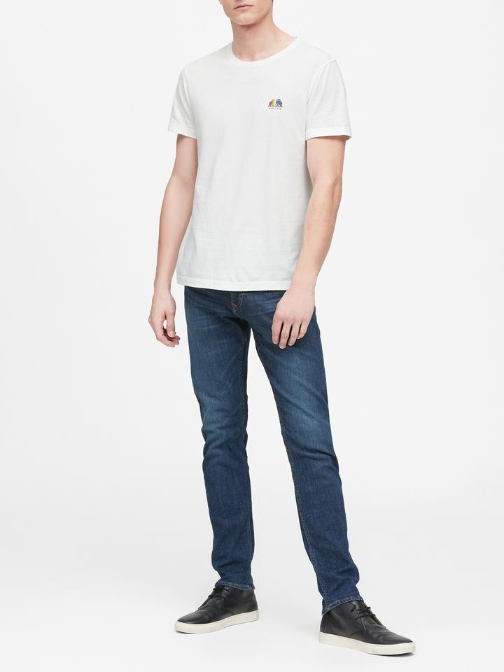 Erkek Beyaz Pride 2019 More Love T-Shirt