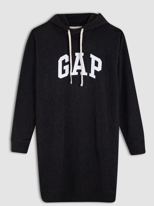 Kapüşonlu Gap Logo Elbise