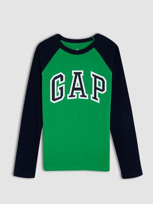 Erkek Çocuk yeşil Gap Logo Uzun Kollu T-shirt 139,95 TL