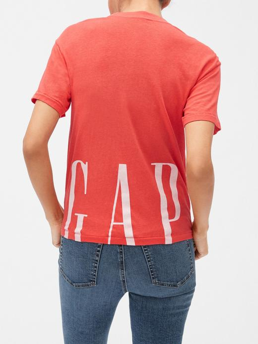 Gap Logo 50. yıl Kısa Kollu Cepli T-shirt