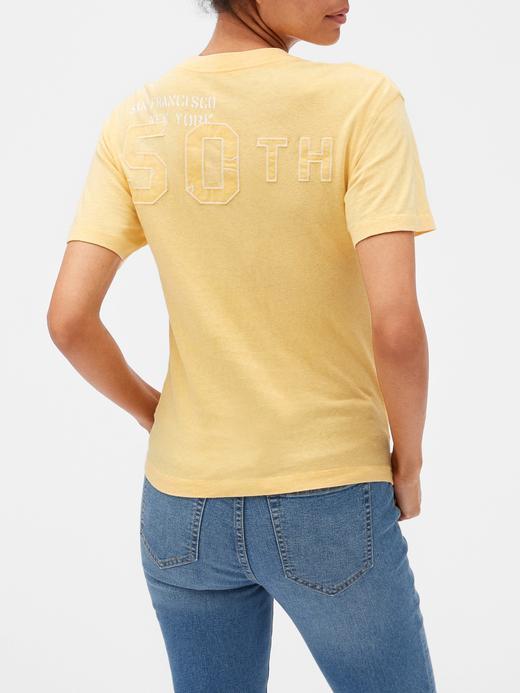Gap Logo 50. yıl  Grafik T-shirt