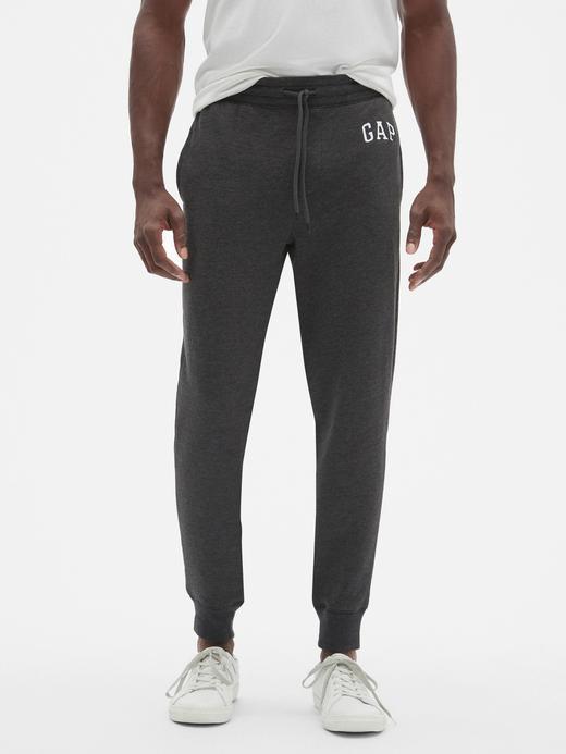 Erkek Gri Gap Logo Eşofman Altı
