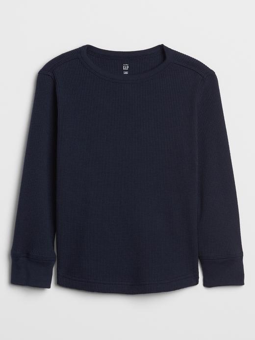 Bebek Lacivert Uzun Kollu Termal T-Shirt