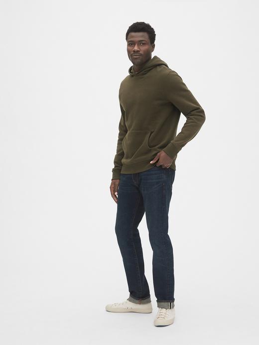 Vintage Pullover Kapüşonlu Sweatshirt