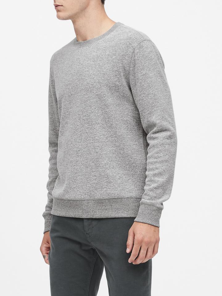 Waffle-Knit Termal Uzun Kollu T-shirt
