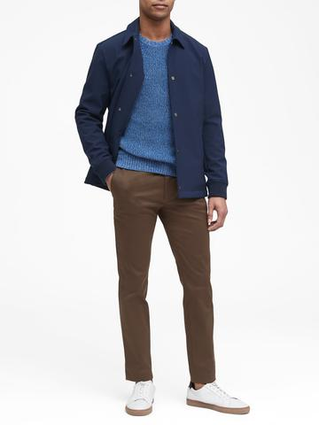 Erkek Yeşil Fulton Skinny Chino Pantolon