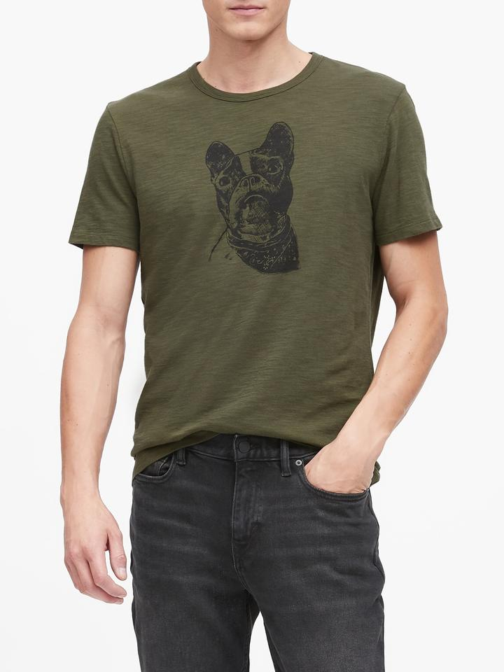 Frenchie Graphic T-Shirt