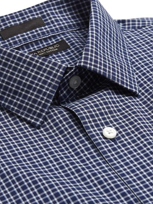 Standart-Fit Ütü Gerektirmeyen Gömlek