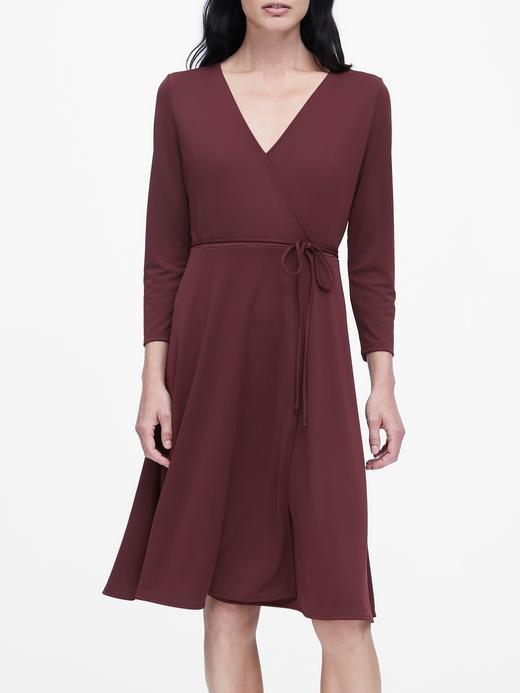 Kadın Kırmızı Jarse Elbise