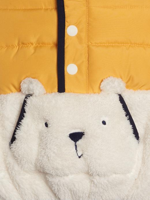 Erkek Bebek Sarı Brannan Bear Sherpa Ceket