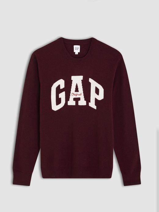 Gap Logo Yuvarlak Yaka Kazak