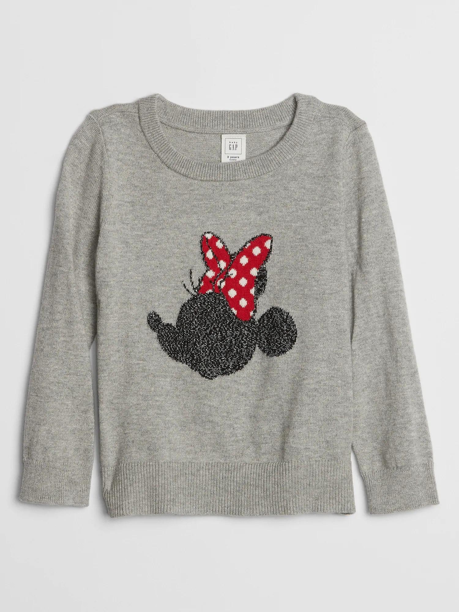 GAP Gri Disney Minnie Mouse Kazak