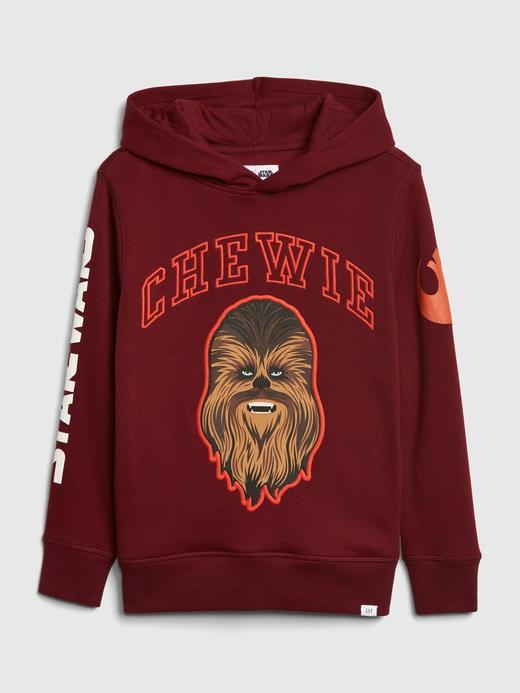 Erkek Çocuk Kırmızı Star Wars™ Kapüşonlu Sweatshirt