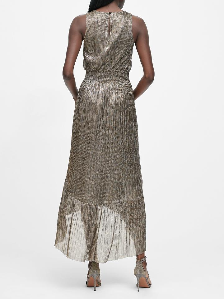 Metalik Elbise