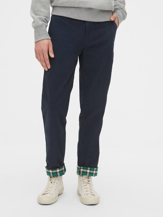 Erkek Lacivert GapFlex Slim Fit Pantolon