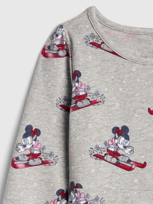 Kız Bebek Gri Disney Minnie Mouse Elbise