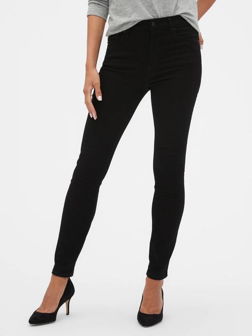 Kadın Siyah Yüksek Bel Legging  jDenimPantolon