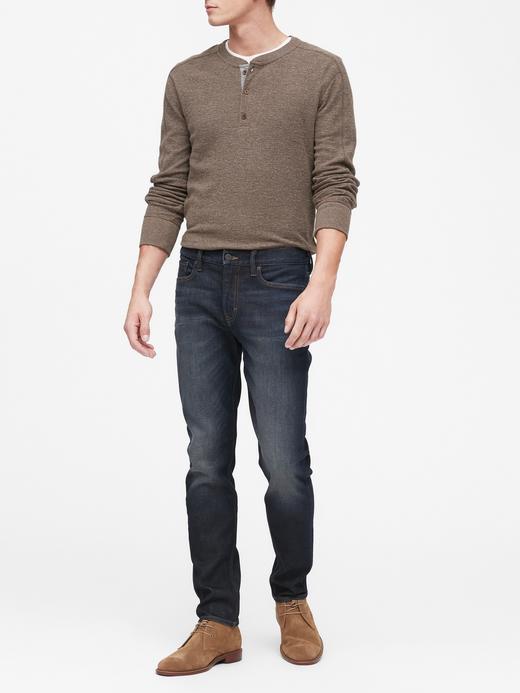 Erkek Mavi Slim Legacy Jean Pantolon