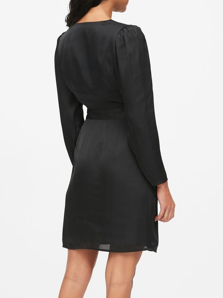 Kadın Siyah Anvelop Elbise