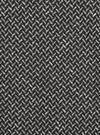 Kadın Siyah Balıksırtı Desenli Cropped Bluz