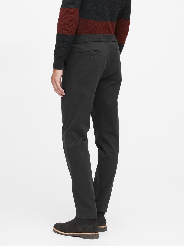 Slim Tapered Italian Twill Pantolon