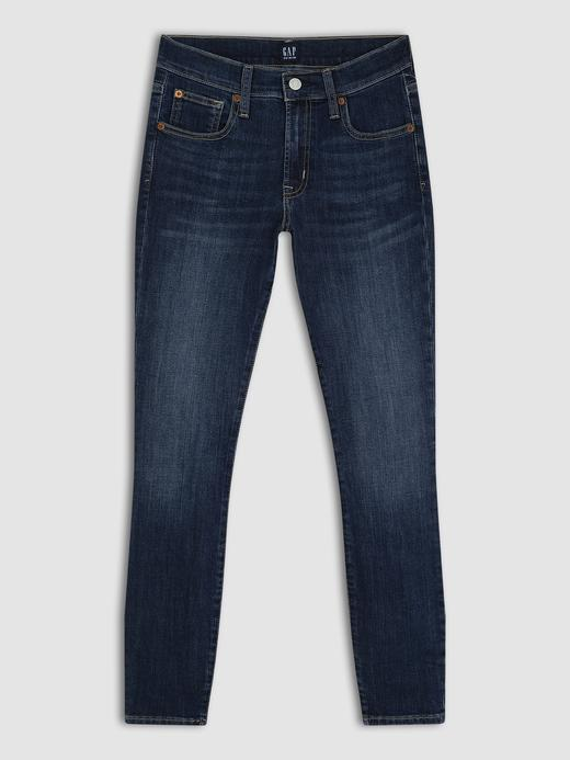 Kadın Mavi Skinny Jean Pantolon