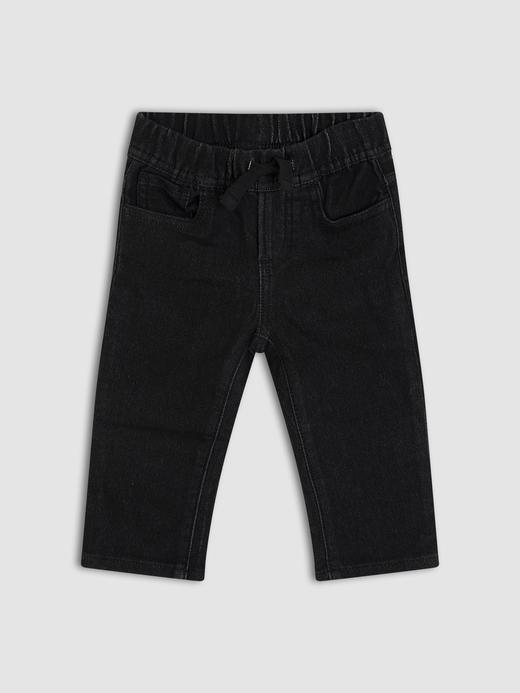 Erkek Bebek Siyah Jean Pantolon