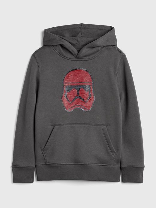 Erkek Çocuk Gri Star Wars™ Kapüşonlu Sweatshirt