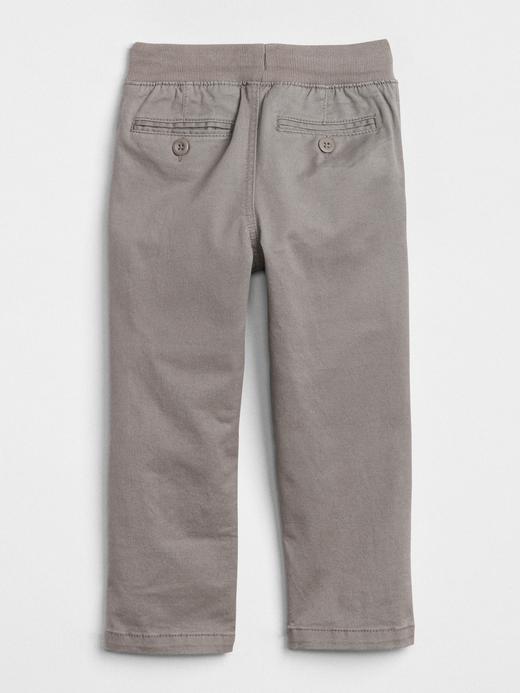 Erkek Bebek Gri Pull-On Pantolon