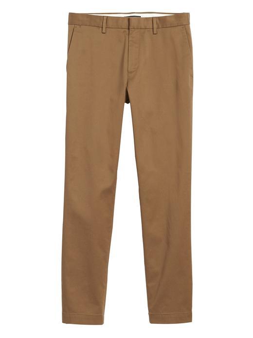 Erkek Kahverengi Fulton Skinny Chino Pantolon