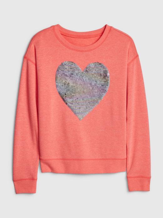 Kız Çocuk Lacivert Grafik Sweatshirt