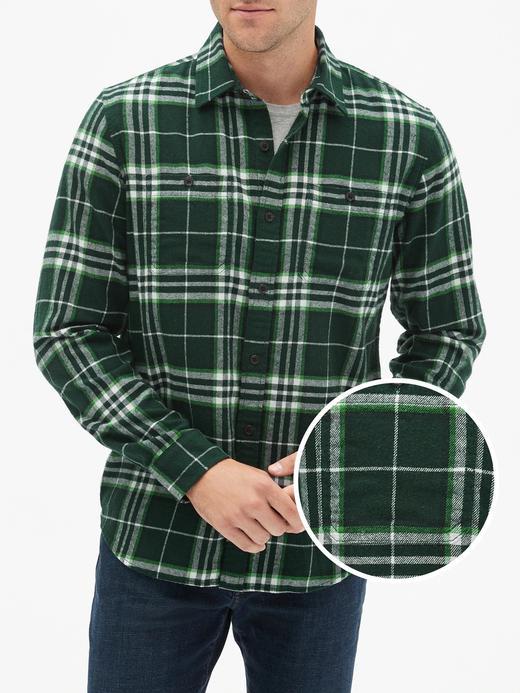 Erkek Yeşil Standard Fit Gömlek