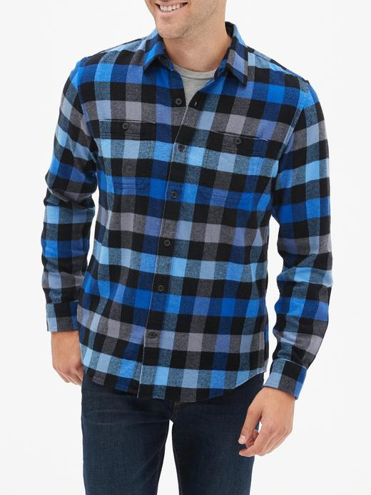 Erkek Mavi Standard Fit Gömlek