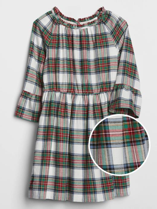 Kız Çocuk Çok renkli Fırfırlı Elbise