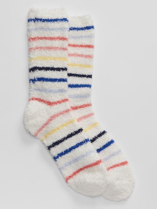 Kadın Çok renkli Yumuşak Dokulu Çorap