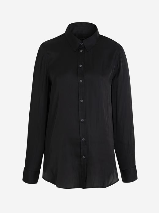 Kadın Siyah Dillon Classic-Fit Gömlek
