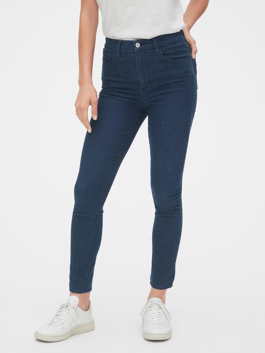 Kadın Lacivert High Rise Favorite Jegging Jean Pantolon