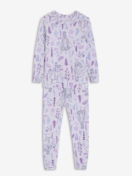 Kız Bebek mor Disney Frozen Pijama Takımı