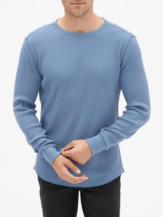 Erkek Mavi Termal T-shirt