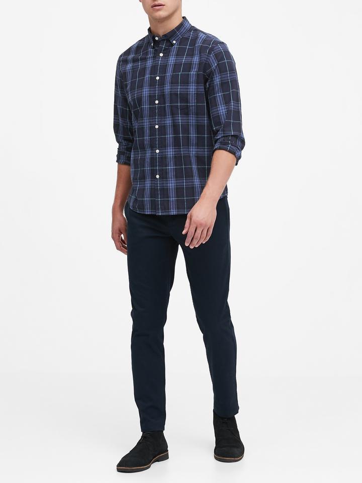 Standard-Fit Luxe Poplin Gömlek