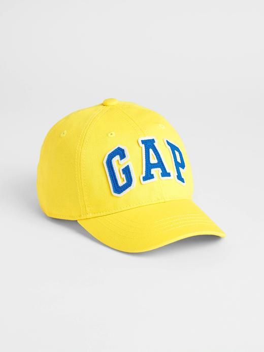 Erkek Çocuk Sarı Gap Logo Beyzbol Şapkası