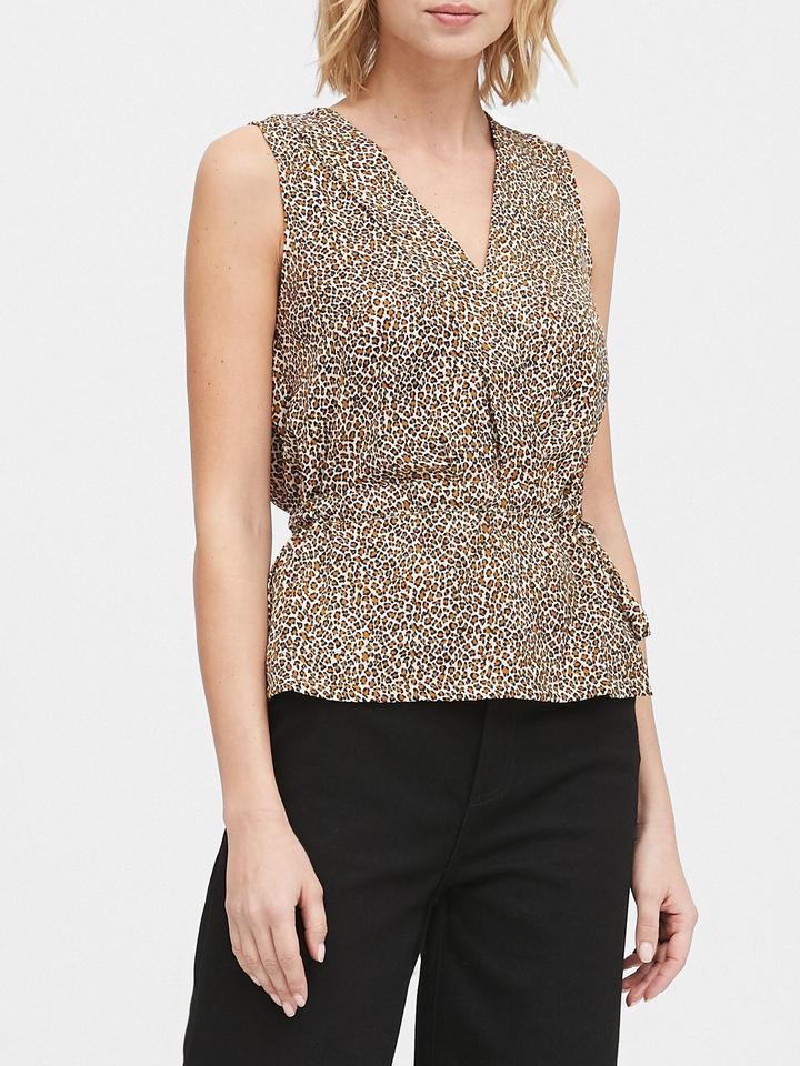 Kadın Kahverengi Belden Kemerli Bluz