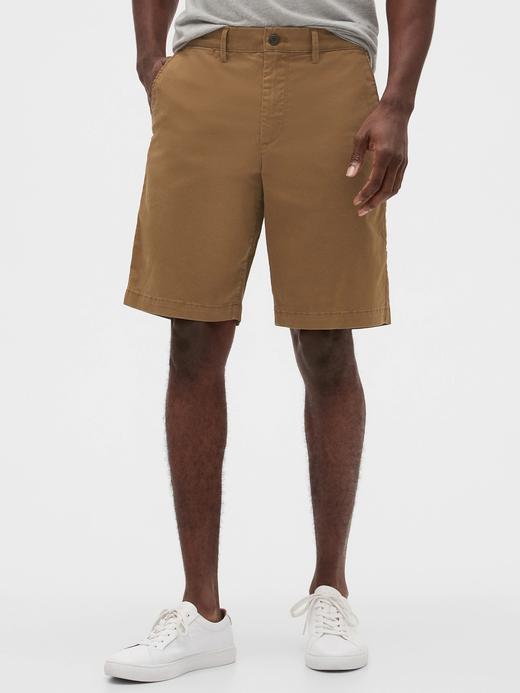Erkek Kahverengi GapFlex Lived-In Şort