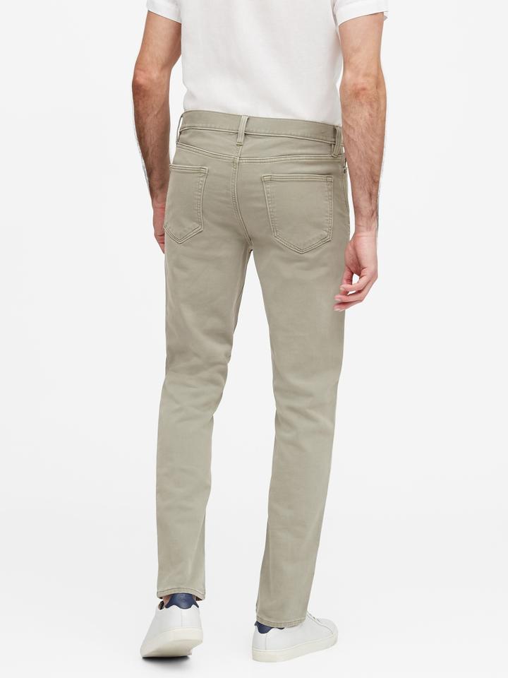 Erkek Lacivert Slim Traveler Pantolon