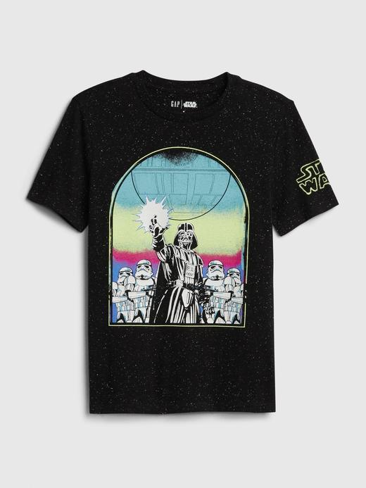 Erkek Çocuk Siyah Star Wars™ Kısa Kollu T-Shirt