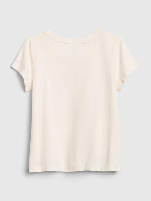 Kız Bebek Pembe Bea Kısa Kollu T-Shirt